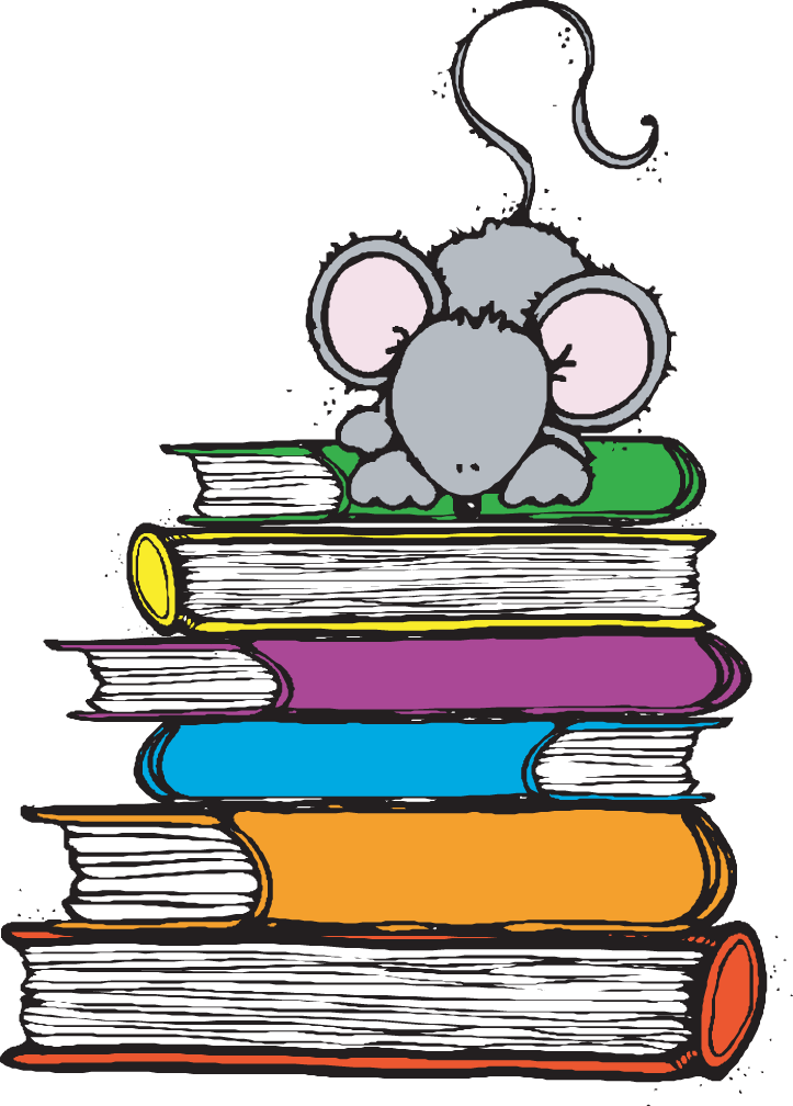 Carson dellosa school clipart clip art royalty free download mouse+on+books.png] | school | Pinterest | School clip art royalty free download