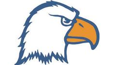 Carson newman eagle clipart black and white