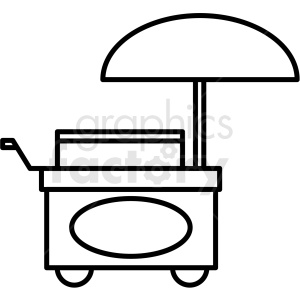 Cart clipart black and white picture library black and white food cart icon clipart. Royalty-free GIF, JPG, PNG ... picture library