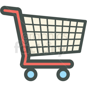 shopping cart vector icon clip art . Royalty-free icon # 406258 picture free library