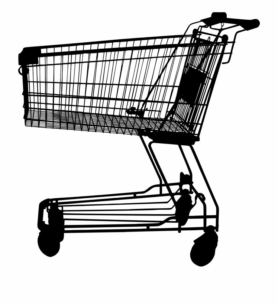 Pushing a full and empty shopping cart clipart png free library Discount Clipart Shopping Cart - Women Pushing Shopping Cart Free ... png free library