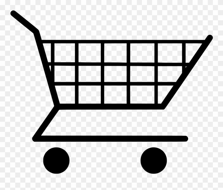 Svg Cart Shopping Supermarket - Shopping Cart Clipart (#132331 ... vector royalty free library