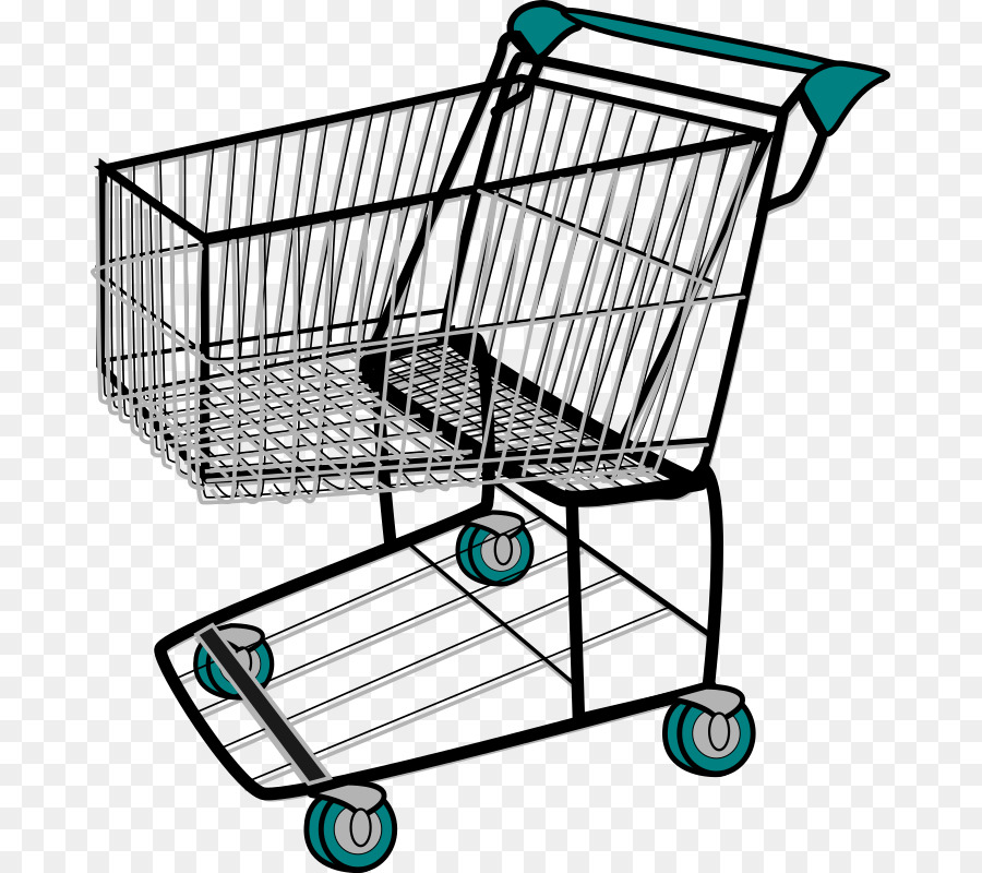 Shopping Cart clipart - Shopping, Product, Line, transparent clip art png transparent download