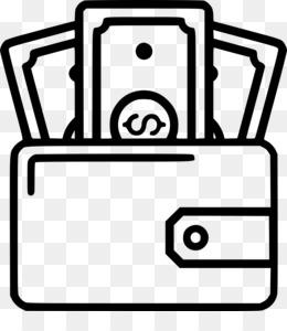 Cartera descarga gratuita de png - Wallet Money Clip art - Black ... free library