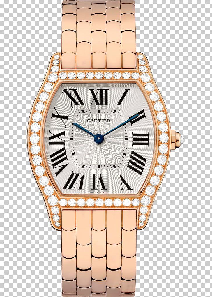 Cartier Watch Diamond Dial Jewellery PNG, Clipart, Beige, Brilliant ... clip art transparent stock
