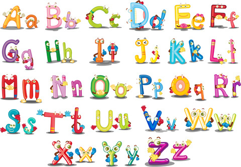 Cartoon alphabet letters clip art banner royalty free library Cartoon alphabet letters free vector download (15,756 Free vector ... banner royalty free library