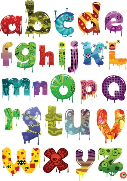 Cartoon alphabet letters clip art vector royalty free Cartoon alphabet letters free vector download (15,756 Free vector ... vector royalty free