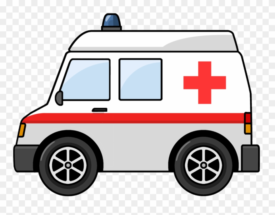 Cartoon ambulance clipart picture royalty free Hospital Clipart Cartoon - Ambulance Clipart Png Transparent Png ... picture royalty free