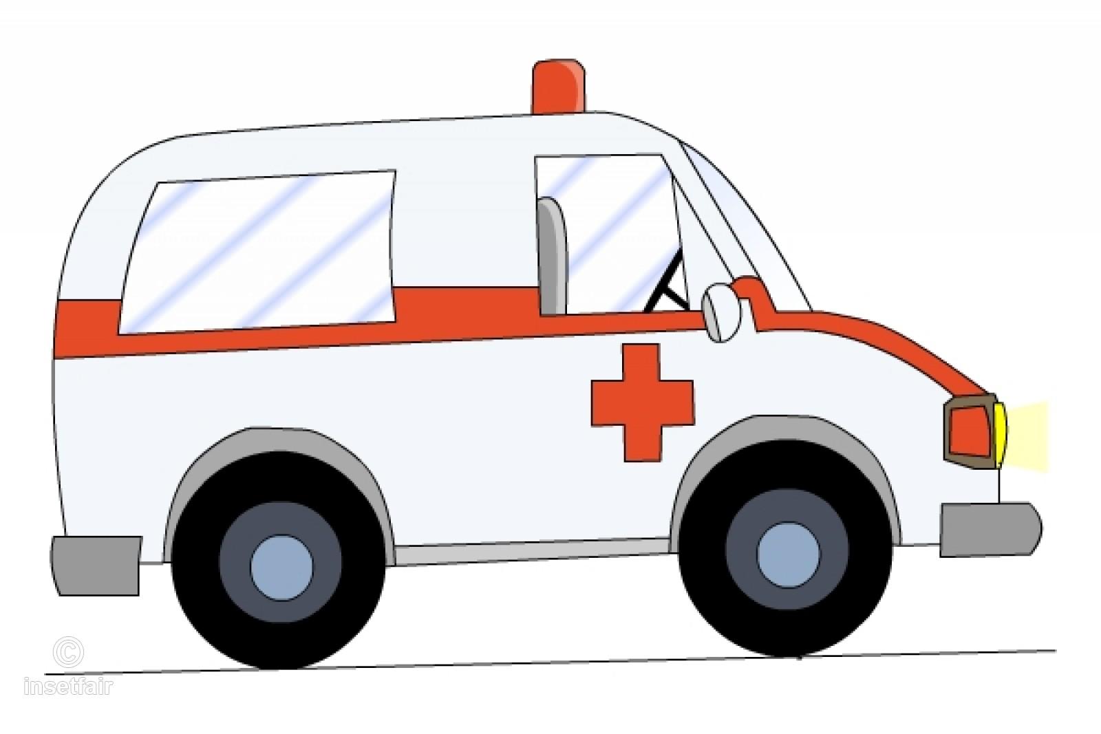 Cartoon ambulance clipart clipart library library Emergency Ambulance vehicle cartoon PNG clipart clipart library library