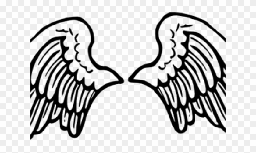 Halo Clipart Angel Wing - Cartoon Angel Wings Png, Transparent Png ... jpg freeuse