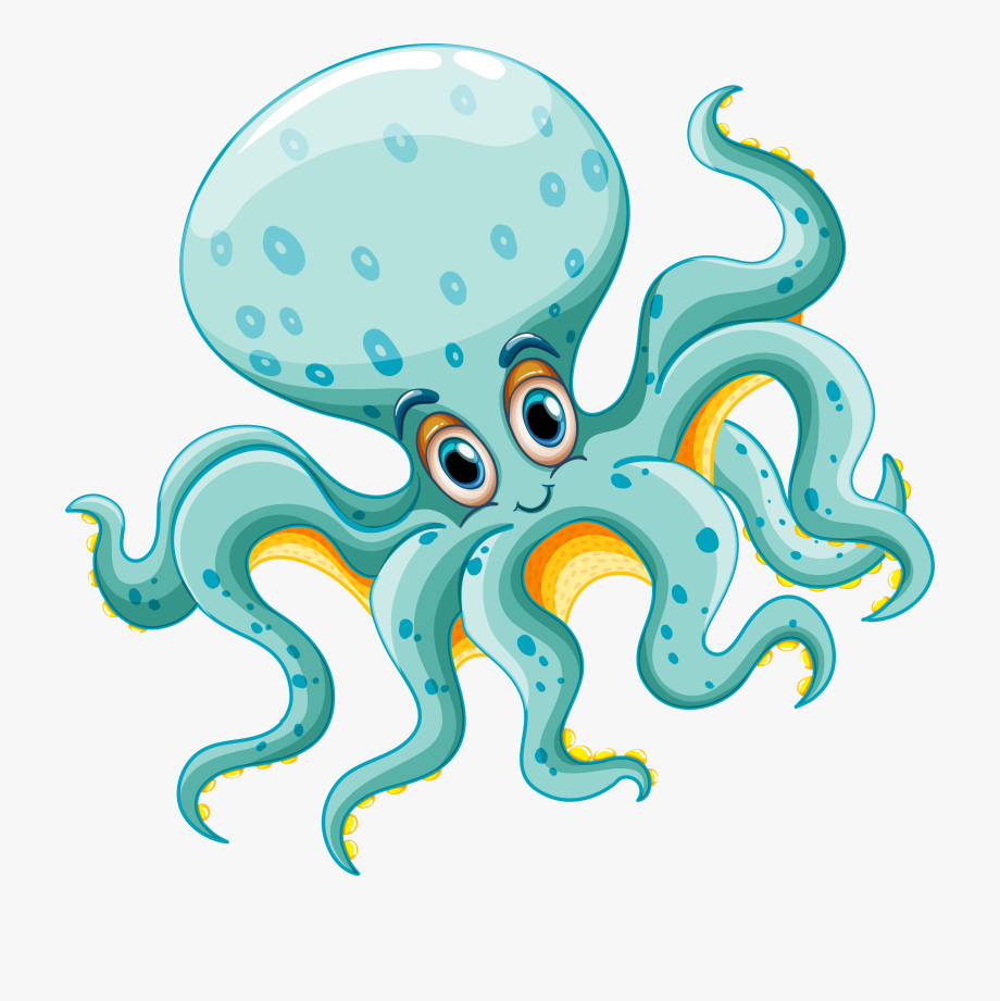 Cartoon animals clipart octopus clip art free library Clipart Animals Octopus - Sea Life Clip Art Ocean Animals #52133 ... clip art free library