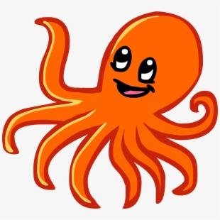 Cartoon animals clipart octopus vector royalty free download Octopus Clipart Animals That Swim , Transparent Cartoon, Free ... vector royalty free download