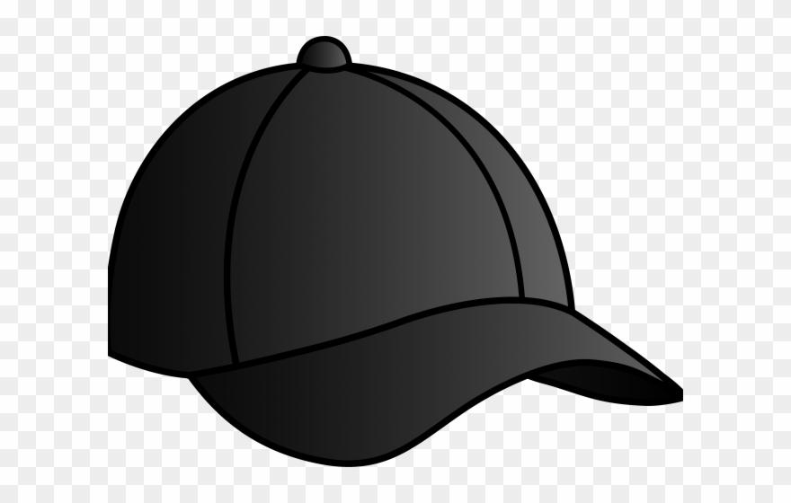 Black baseball cap clipart royalty free stock Nike Clipart Cap - Black Baseball Cap Cartoon - Png Download ... royalty free stock