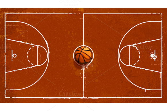 Cartoon basketball court clipart clip art transparent stock Cartoon basketball court clipart - Clip Art Library clip art transparent stock