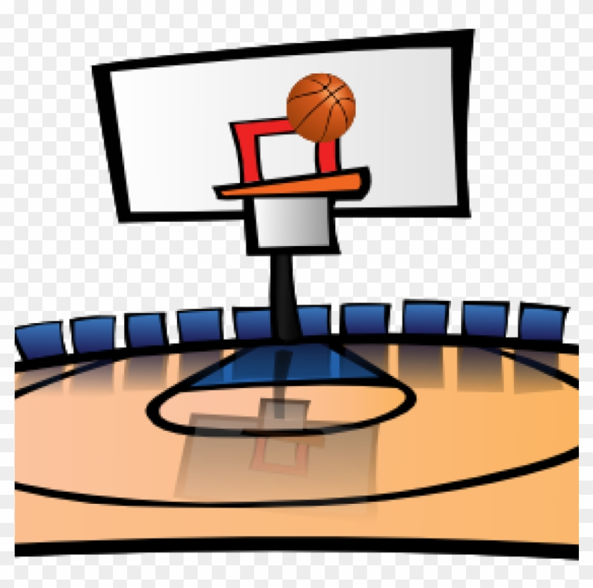 Cartoon basketball court clipart transparent library Gallery Of Court Clipart Grey Gavel Cartoon Png Image - Basketball ... transparent library