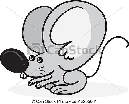 Cartoon big ears clipart clip art freeuse Vector of Mouse Big Ears - Cartoon mouse with large ears ... clip art freeuse
