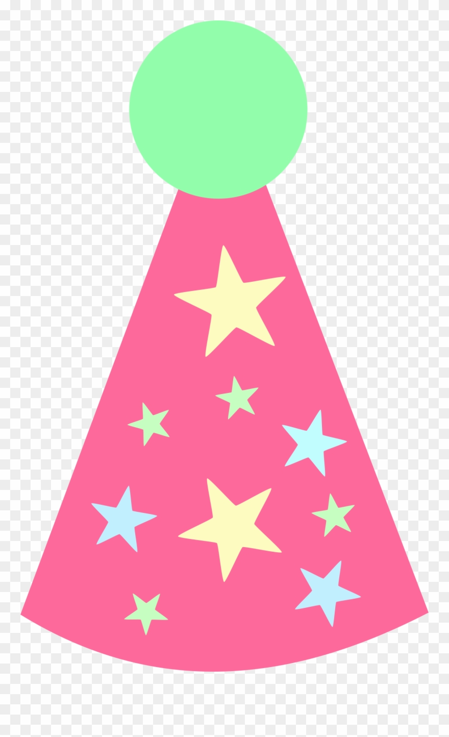Cartoon birthday hat clipart banner royalty free stock Bright Red Party Big Image Png - Birthday Party Hat Cartoon Clipart ... banner royalty free stock