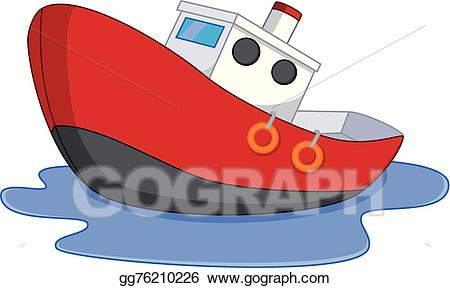 Cartoon boat clipart graphic stock Vector Art - Cartoon boat with water . Clipart Drawing gg76210226 ... graphic stock