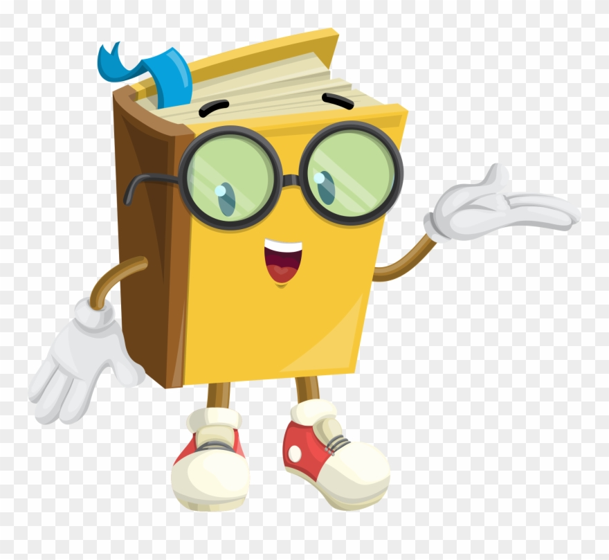 Cartoon book picture clipart picture library Handwriting Clipart - Cartoon Book Character - Png Download (#868709 ... picture library