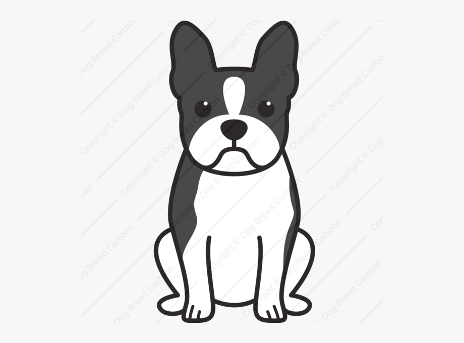 Cartoon boston terrier clipart svg royalty free Buy Animation Online Cartoon - Easy Boston Terrier Drawings #2544782 ... svg royalty free