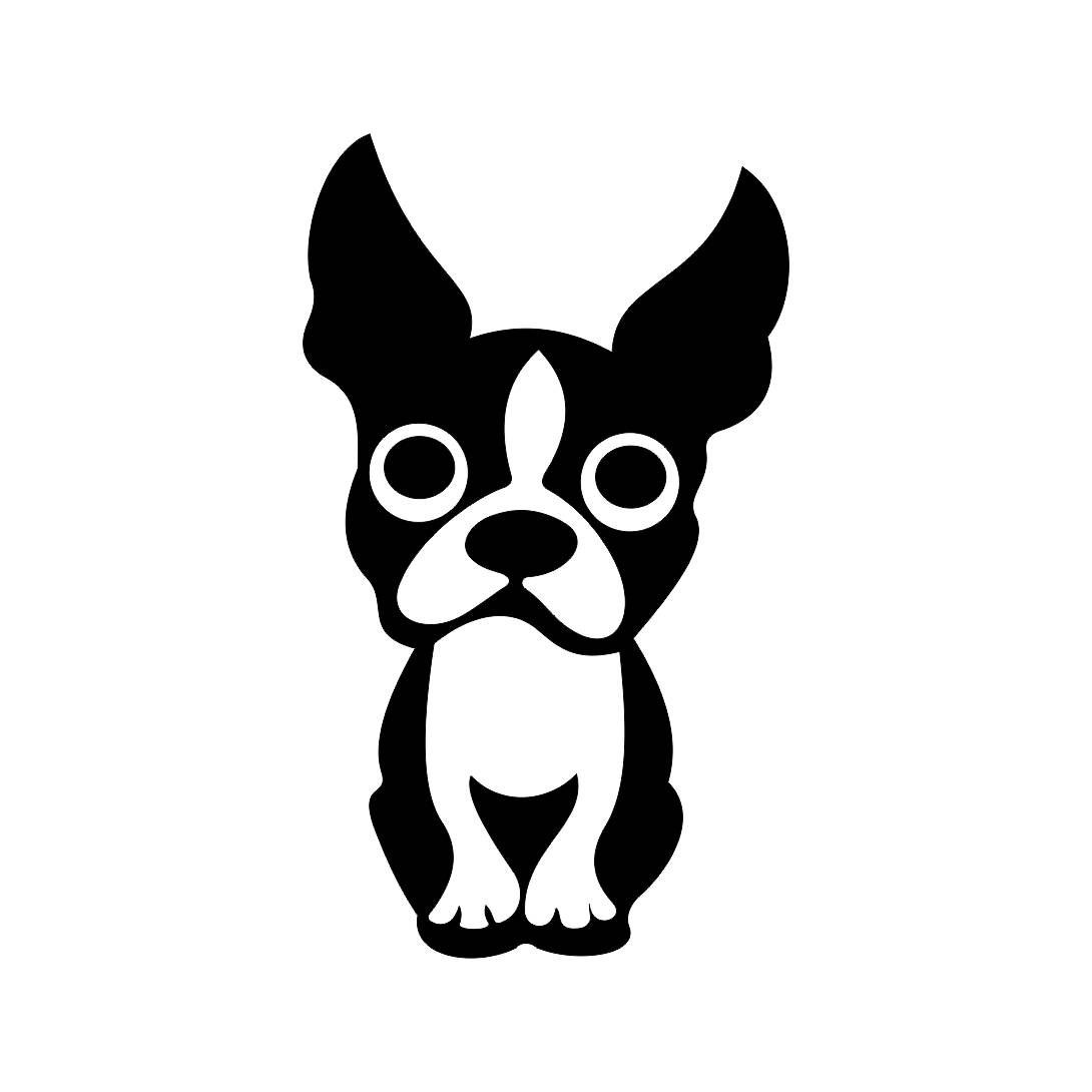 Cartoon boston terrier clipart image freeuse download Boston Terrier Drawing | Free download best Boston Terrier Drawing ... image freeuse download