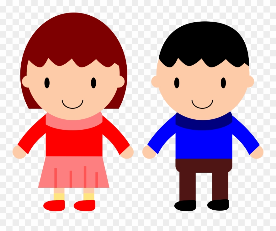 Cartoon boy girl clipart graphic royalty free library Boy And Girl Clip Art Many Interesting Cliparts - Clip Art Girl And ... graphic royalty free library