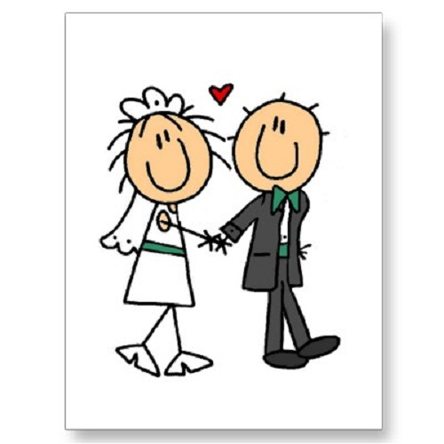 Free cartoon bride and groom clipart clip art library library cartoon-bride-and-groom-clipart - Connecticut Wedding DJ clip art library library