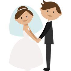 Cartoon bride and groom clipart clip royalty free library 18 Best Bride and groom cartoon images in 2017 | Indian wedding ... clip royalty free library