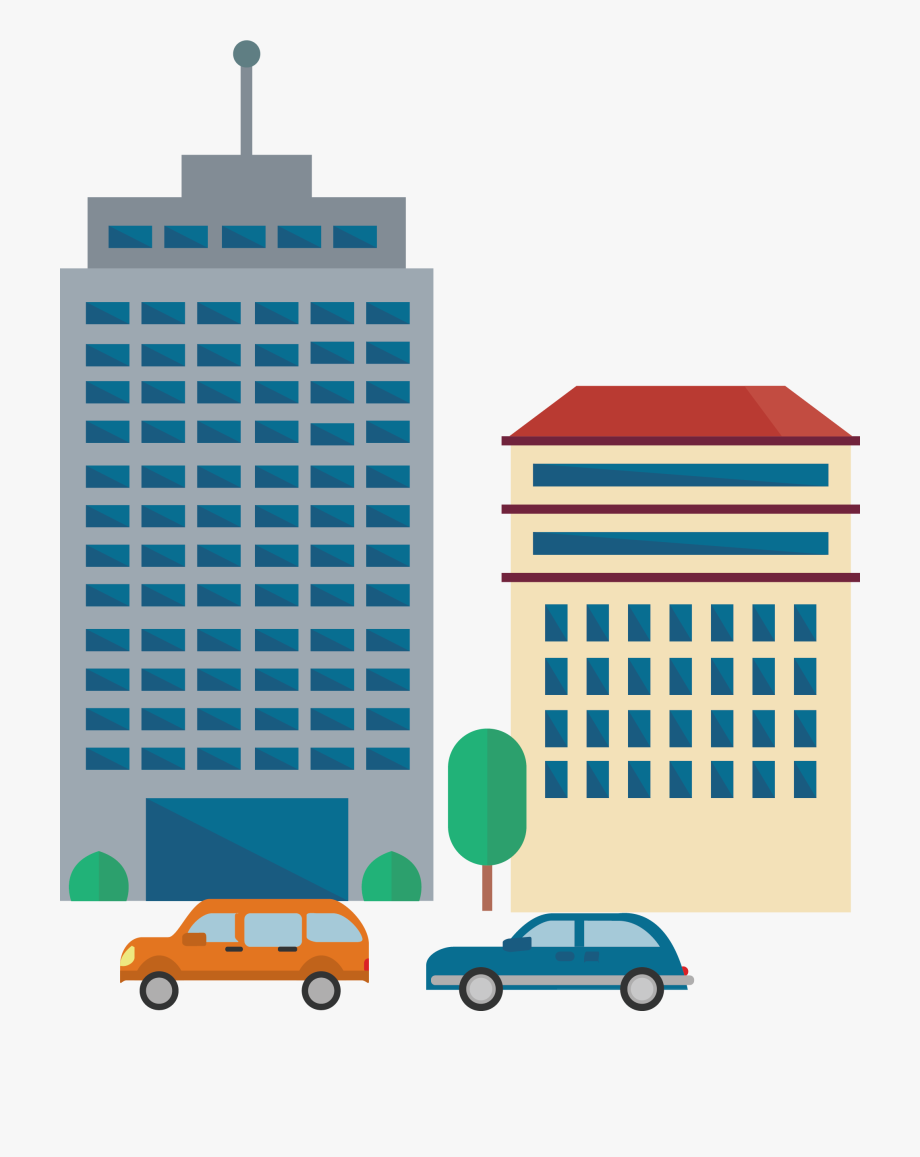 Cartoon building clipart png download Office Building Skyscraper Cartoon - Cartoon Office Building Png ... png download