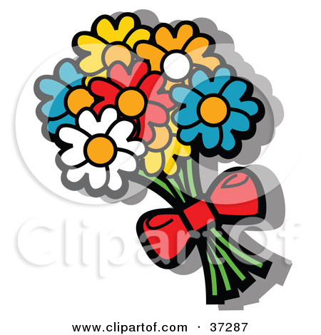 Rose Bouquet Cartoon Clipart - Clipart Kid svg stock