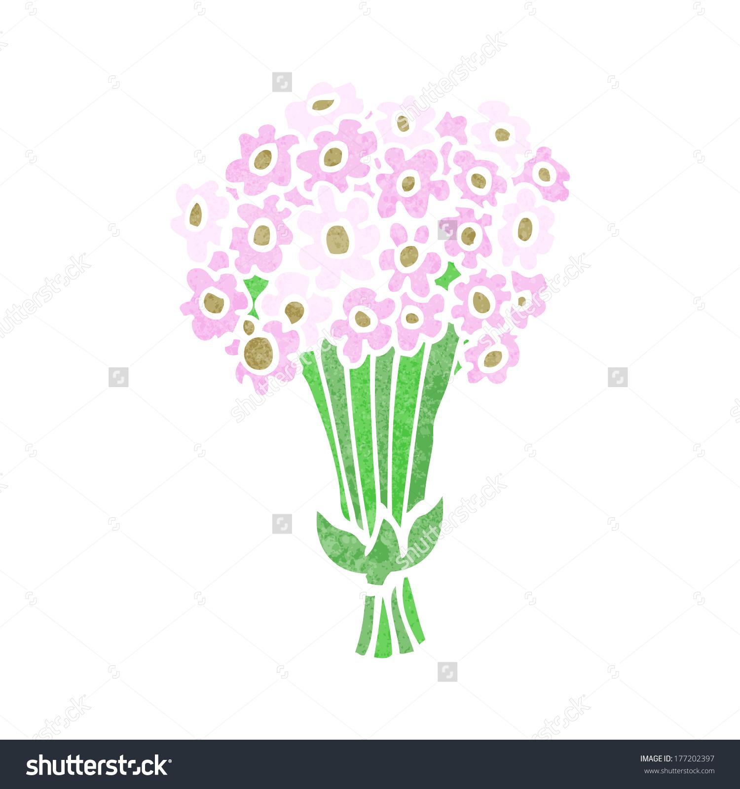 Cartoon bunch of flowers banner freeuse download Cartoon Flowers Stock Vector 177202397 - Shutterstock banner freeuse download
