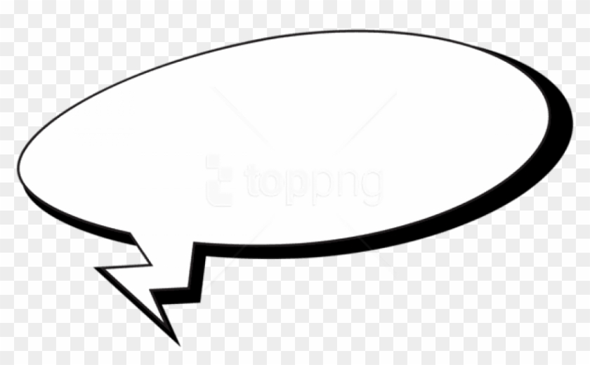 Comic speech clipart graphic black and white library Free Png Download Comics Speech Bubble Clipart Png - Comic Speech ... graphic black and white library
