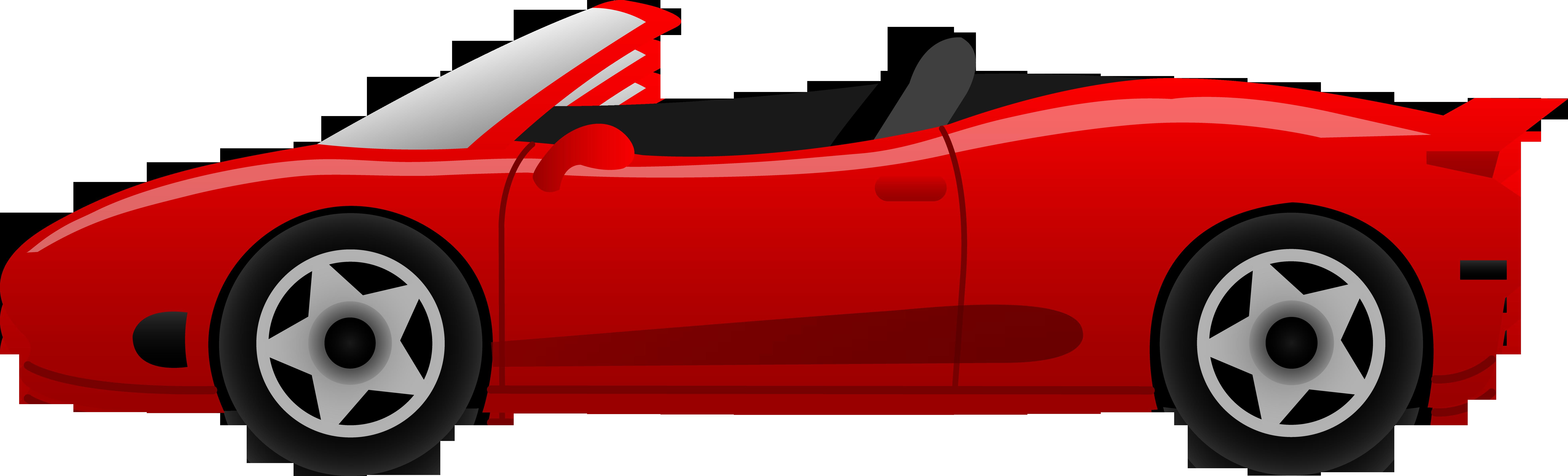 Cartoon car free clipart royalty free Sports car Ferrari Cartoon Clip art - Red sports car 7863*2391 ... royalty free