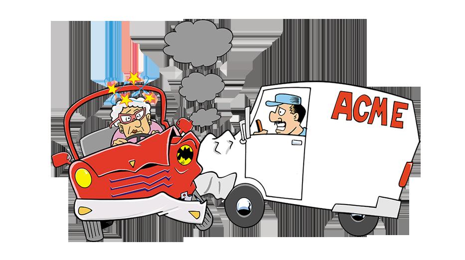 Cartoon car wreck clipart graphic transparent download Car Wrecks - Mama Hurt? graphic transparent download