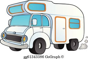 Cartoon caravan clipart picture free library Caravan Clip Art - Royalty Free - GoGraph picture free library