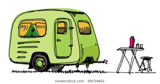 Cartoon caravan clipart 4 » Clipart Station free stock