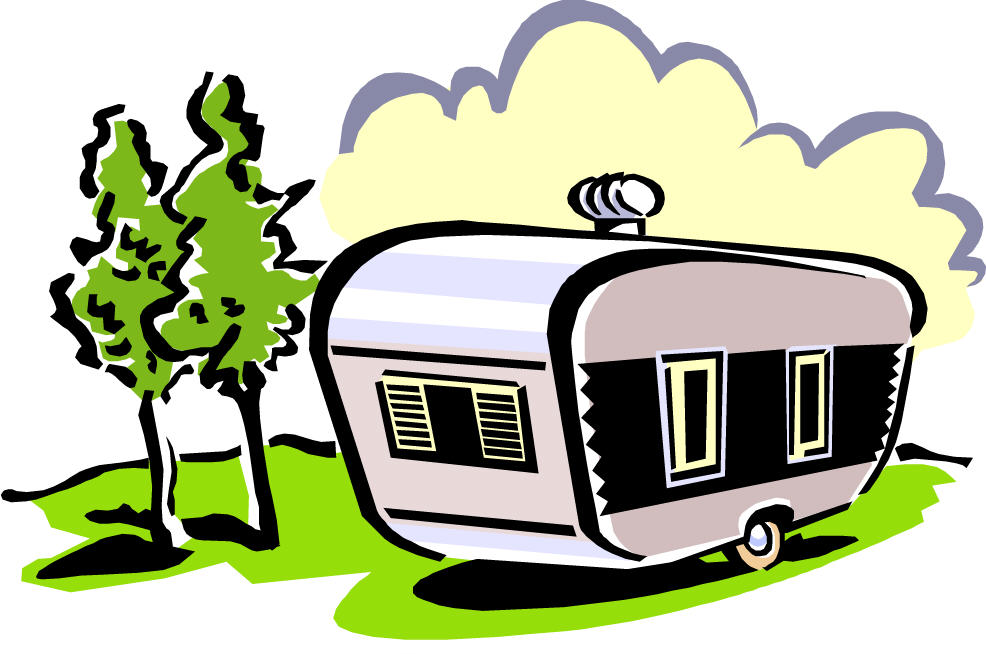 Cartoon caravan clipart vector freeuse stock Free Cartoon Camping Pictures, Download Free Clip Art, Free Clip Art ... vector freeuse stock