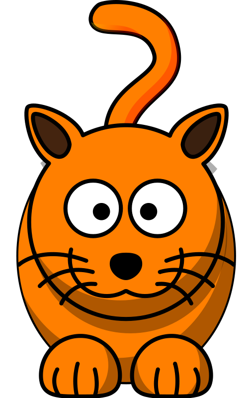 Orange cat face clipart png download Cartoon Cat Free Clipart png download