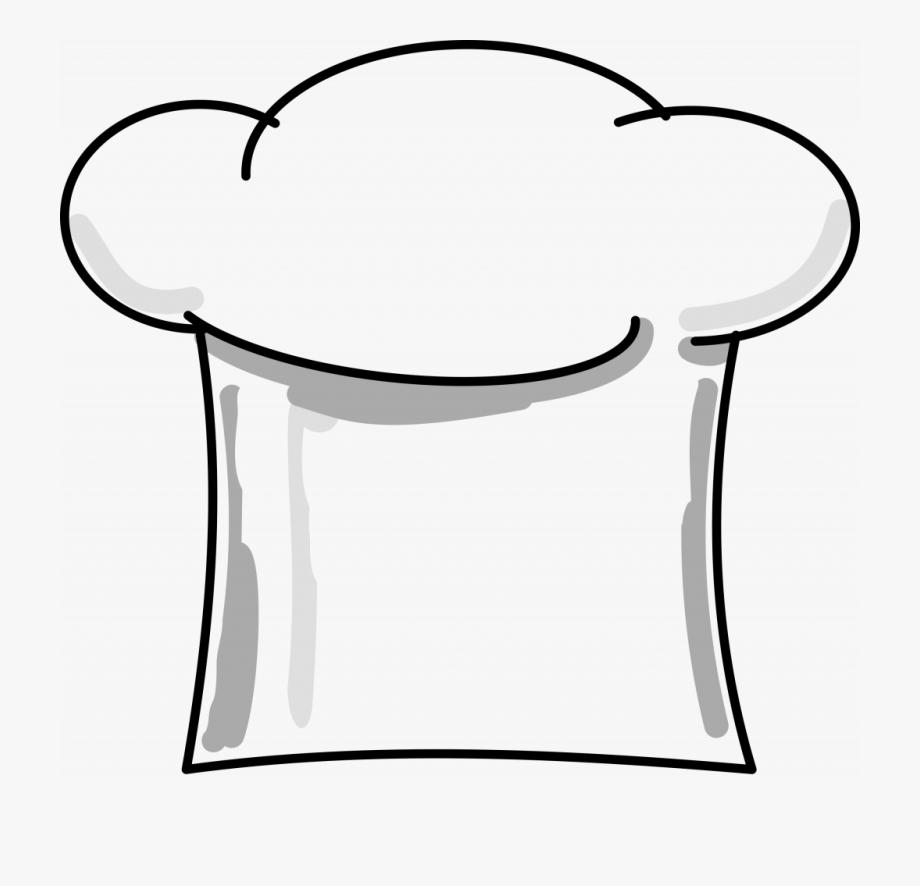 Cartoon chef hat clipart transparent download Cooking Hat Clipart - Transparent Cartoon Chef Hat #1618740 - Free ... transparent download