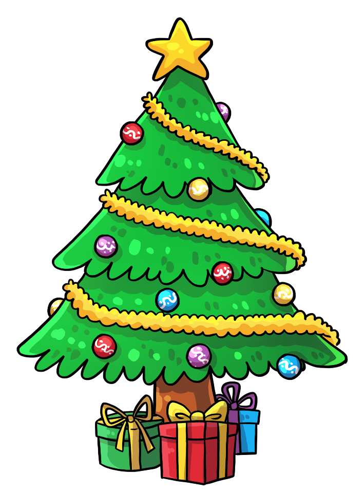 Cartoon christmas tree clipart library Christmas Tree Cartoon | find craft ideas library