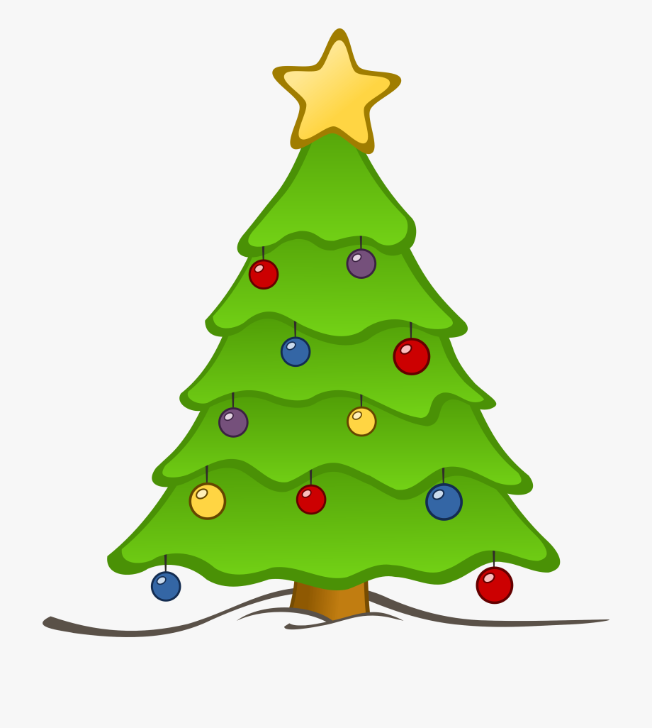 Cartoon clipart christmas tree clipart Christmas Tree Clip Art - Christmas Tree Clipart , Transparent ... clipart