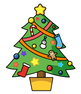Cartoon clipart christmas tree image stock Cute cartoon Christmas tree | Christmas Graphics & Clip Art ... image stock