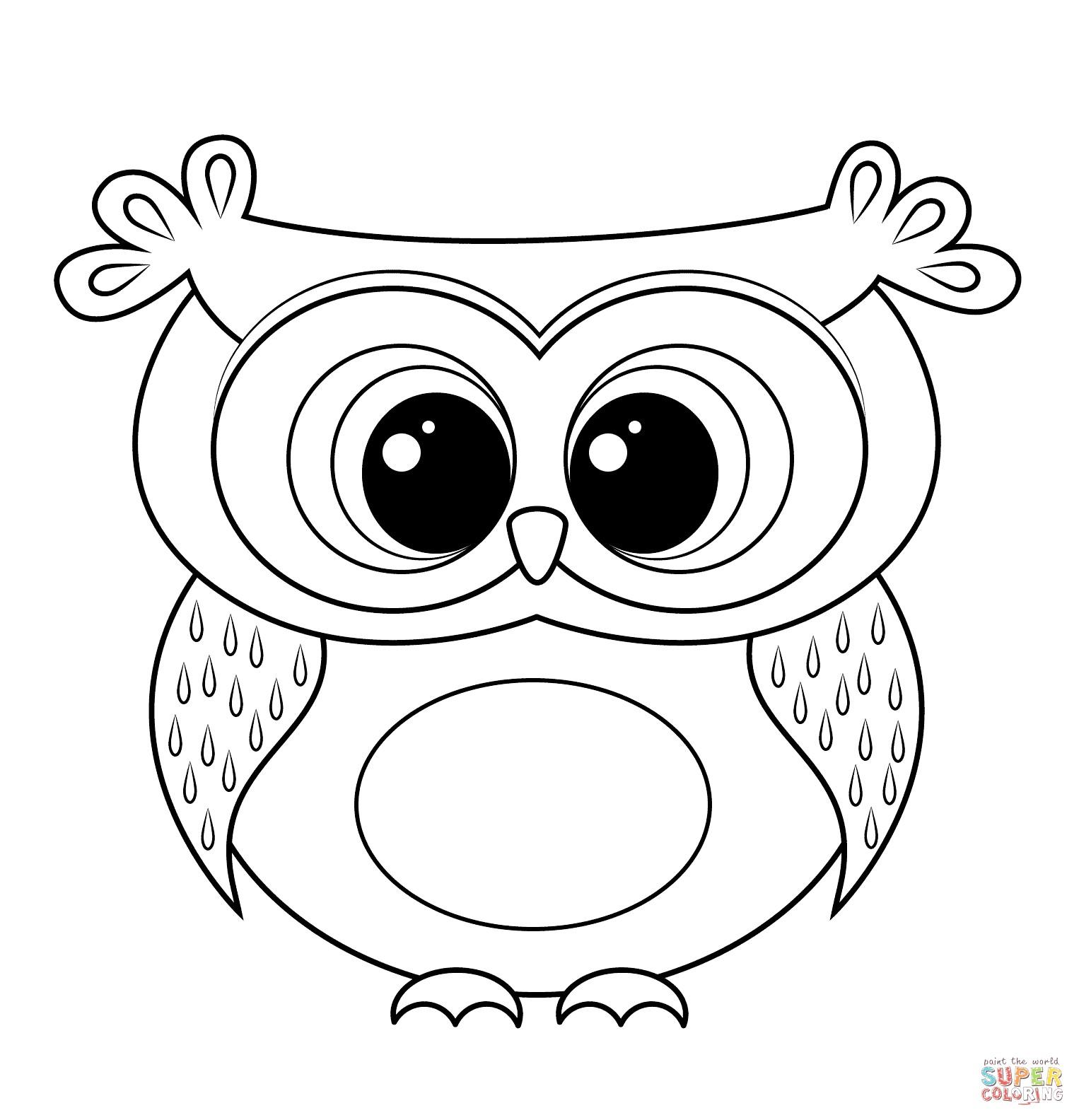 Cartoon clipart coloring clip art freeuse Coloring Ideas : Coloring Ideas Owl Clipart Black And White Cartoon ... clip art freeuse