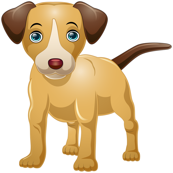 Free dog cartoon clipart image free stock Dog Cartoon PNG Clip Art Image | Gallery Yopriceville - High ... image free stock