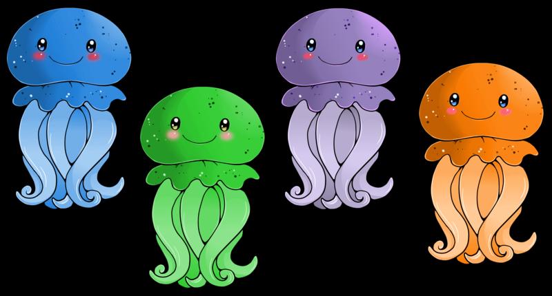 Cartoon clipart fish svg Jellyfish clipart biezumd - ClipartPost svg