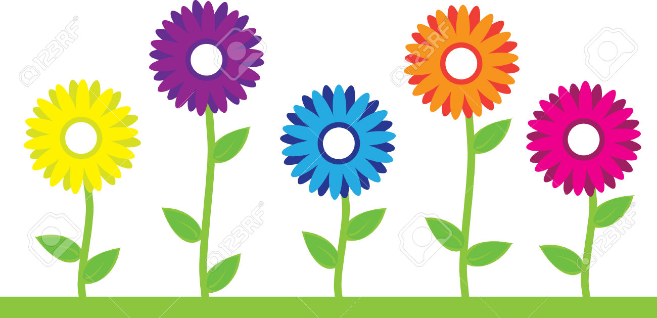 Cartoon clipart flowers picture free download Flower cartoon clipart 1 » Clipart Station picture free download