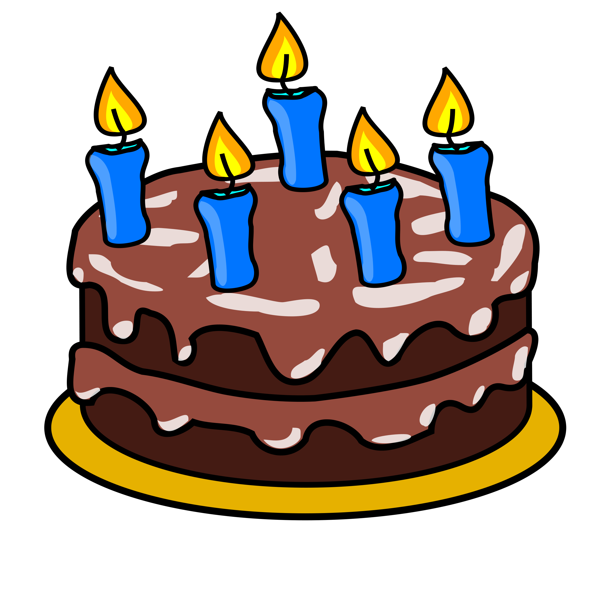 Cartoon clipart for 12 year old birthdays clip transparent stock Free Images Of A Birthday Cake, Download Free Clip Art, Free Clip ... clip transparent stock