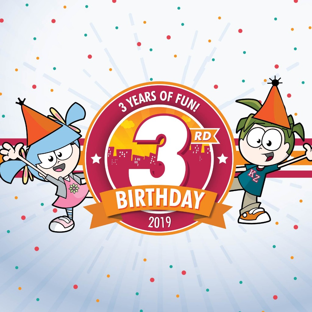 Cartoon clipart for 12 year old birthdays png royalty free download KidZania Singapore\'s 3rd Birthday – The Biggest 3-Year-Old Party ... png royalty free download