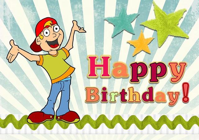 Cartoon clipart for 12 year old birthdays banner black and white Birthday Jokes | Fun Kids Jokes banner black and white