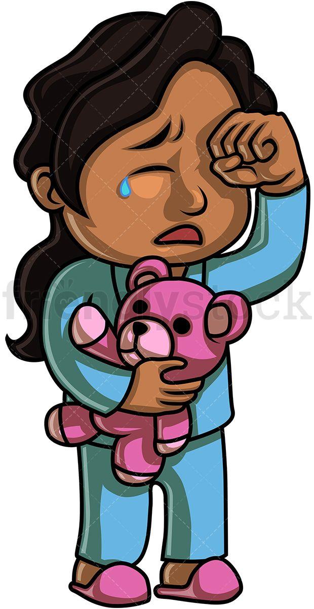 Black Little Girl Crying | Kids Clipart in 2019 | Black little girls ... jpg library